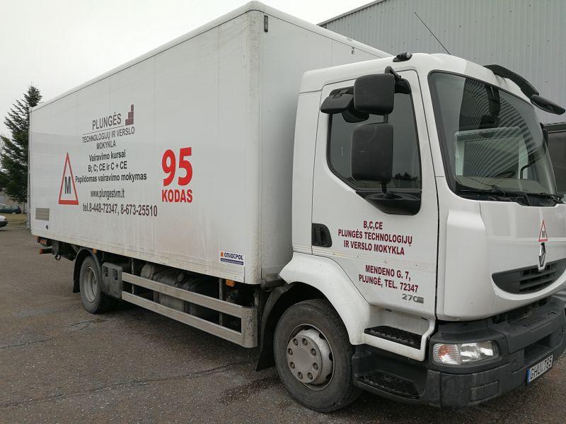 95 kodas Sunkvežimis